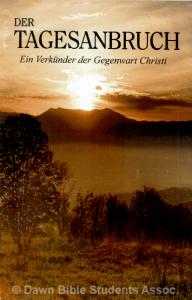 """""""Der Tagesanbruch"""" 2013"""
